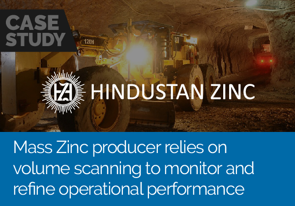 Mass zinc producer relies on volume scanning to monitor and refine performance